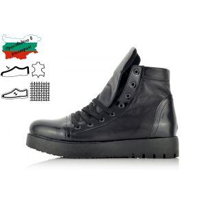 Дамски Кецове на Платформа - 1370773 - Черно
