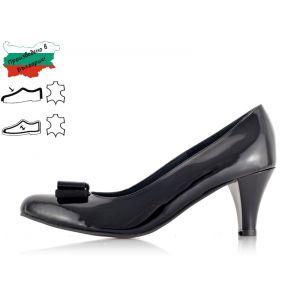 Дамски Елегантни Обувки на Ток - 1370141 - Черно