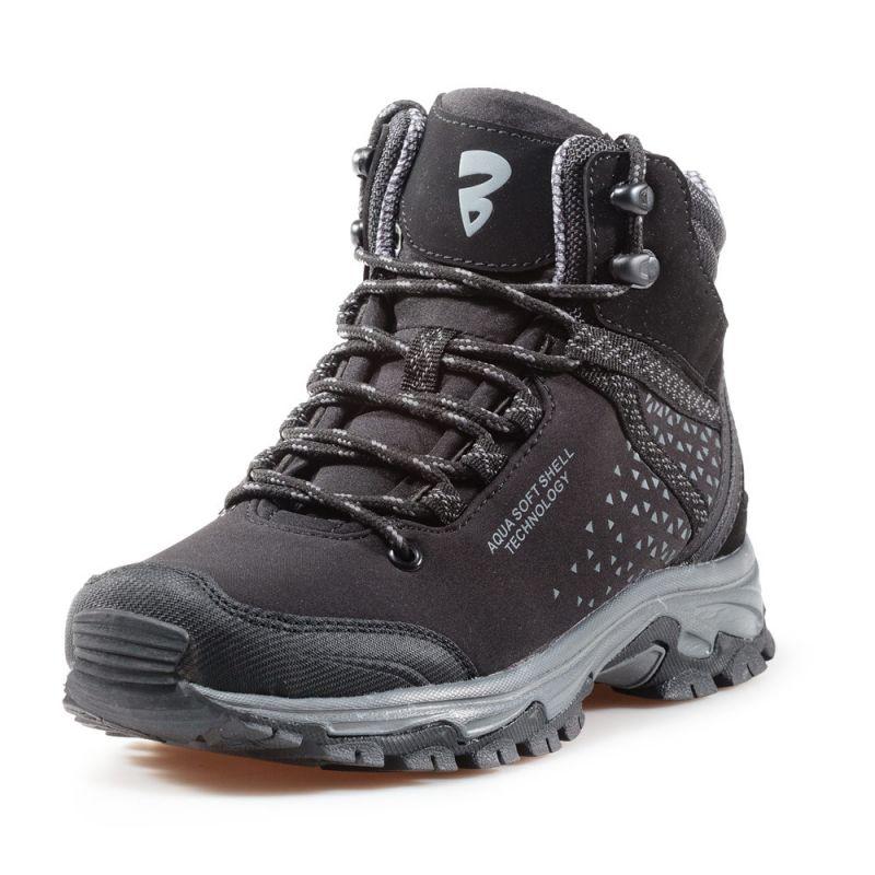 6a7fd8438e4 Високи Зимни Обувки Bulldozer - 82017 - Черно и Сиво