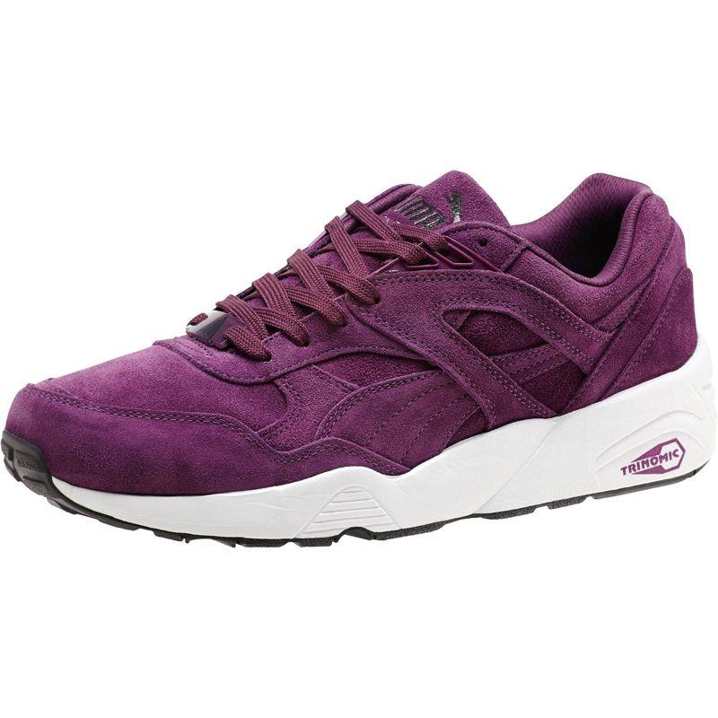 online store 9c7cb 88953 Мъжки спортни обувки Puma R698 Allover Suede purple