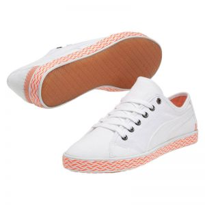 sneakers for cheap b1756 b5911 Дамски Кецове Puma Kamila Espadrille white